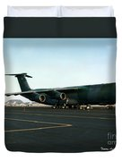 Lockheed C-5 Galixy Duvet Cover