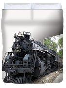 Locomotive 639 Type 2 8 2 Out Of Bounds Duvet Cover