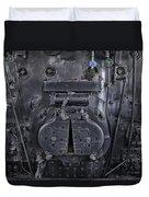 Locomotive 886 Steam Boiler Firebox Duvet Cover