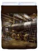 Locomotive - Repairing History Duvet Cover