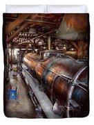 Locomotive - Routine Maintenance  Duvet Cover