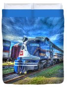 Locomotive Wabash E8 No 1009 Duvet Cover