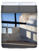 Loft For Rent  Burnt Out Building Or Wharehouse Duvet Cover