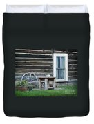 Log Cabin Duvet Cover