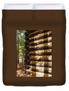 Log Corner Duvet Cover