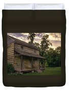 Log House Dusk Duvet Cover
