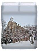 Logan Temple Winter Duvet Cover