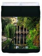 Loggia Valmarana On The Seriola Duvet Cover