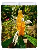 Lollipop Flower In Quepos-costa Rica Duvet Cover