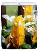 Lollipop Plant  Duvet Cover