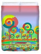 Lollypop Island Duvet Cover