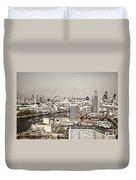 London Cityscape Duvet Cover