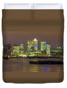 London Docklands Duvet Cover by Dawn OConnor