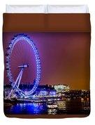 London Eye Night Glow Duvet Cover