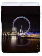 London Eye Night Duvet Cover