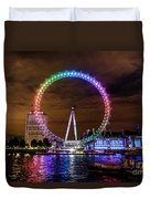 London Eye Pride Duvet Cover