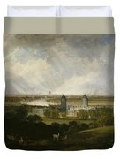 London From Greenwich Park Duvet Cover