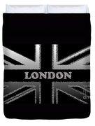 London Modern Union Jack Flag Duvet Cover