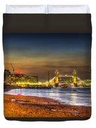 London Night View Duvet Cover