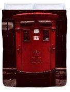 London Post Box 2 Duvet Cover