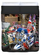 London Scooters Duvet Cover