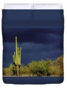 Lone Cactus Sentry Duvet Cover