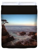 Lone Cyprus Pebble Beach Duvet Cover