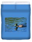 Lone Duck Duvet Cover