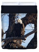 Lone Eagle Duvet Cover