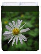 Lone Flower Duvet Cover