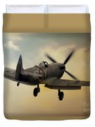 Lone Spitfire Duvet Cover