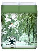 Lone Star State - A Texas Landscape Duvet Cover