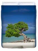 Lone Tree - Aruba Duvet Cover