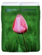 Lone Tulip Duvet Cover
