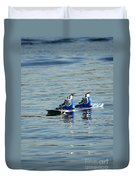 Lone Wakeboard Duvet Cover