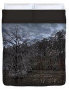 Lonely Bald Cypress Duvet Cover