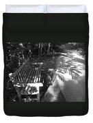 Lonely Bench 5 Duvet Cover