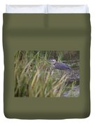 Lonely Heron Duvet Cover