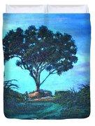Lonely Giant Tree Duvet Cover