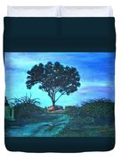 Lonely Giant Tree Duvet Cover