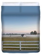 Lonely Horse Duvet Cover