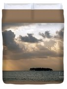 Lonely Island Duvet Cover