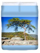 Lonely Lonesome Pine Duvet Cover