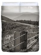 Lonely Mountain Road Duvet Cover