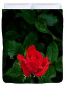Lonely Rose Duvet Cover