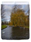 Lonely Swan Duvet Cover