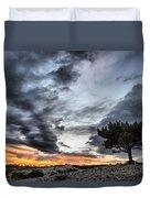 Lonely Tree Duvet Cover by Okan YILMAZ
