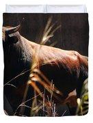Lonesome Bull Duvet Cover