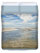 Long Beach Outflow Duvet Cover