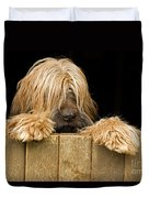 Long-haired Dog Duvet Cover